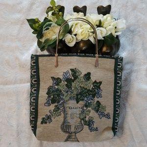 VTG Tapestry Style Purse